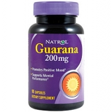 NAT Guarana 200mg 90kap.